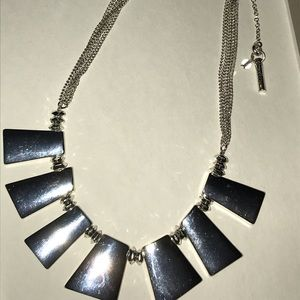 Kenneth Cole Silver Necklace